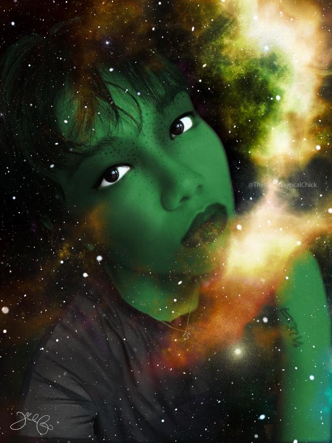 Extraterrestrial Woman Interdimensional