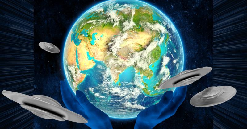EARTH ufo